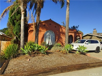 San Luis Obispo Single Family Home For Sale: 73 Chorro Street