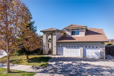 Paso Robles Single Family Home For Sale: 301 Montebello Oaks Drive