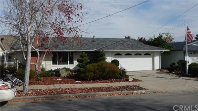San Luis Obispo Single Family Home For Sale: 1546 Oceanaire Drive