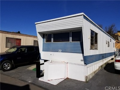 Grover Beach Mobile Home For Sale: 1477 W Grand Avenue