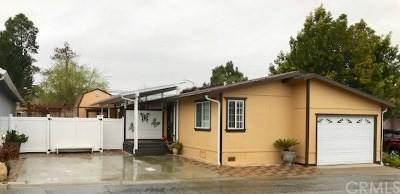 San Luis Obispo Mobile Home For Sale: 1616 Garnette Drive