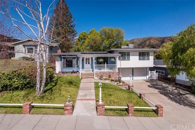 San Luis Obispo Single Family Home For Sale: 1660 Fredericks Street