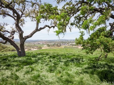 San Luis Obispo County Residential Lots & Land For Sale: 1522 Burnt Rock Way