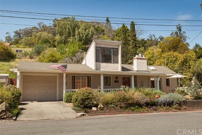 San Luis Obispo Single Family Home For Sale: 523 Hill Street