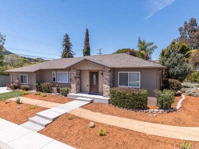 San Luis Obispo Single Family Home For Sale: 492 Felton Way