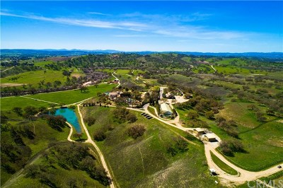 Paso Robles CA Single Family Home For Sale: $10,950,000
