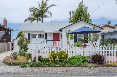 San Luis Obispo County Single Family Home For Sale: 258 Morro Avenue