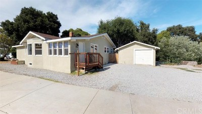 San Luis Obispo CA Single Family Home For Sale: $835,000