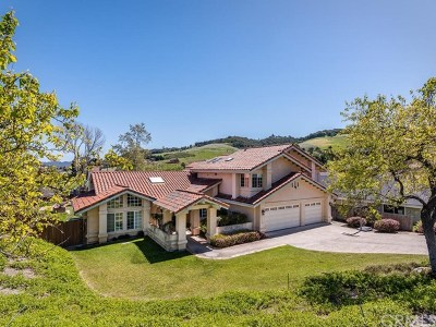 San Luis Obispo CA Single Family Home For Sale: $1,585,000