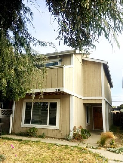 Pismo Beach, Arroyo Grande, Grover Beach, Oceano Single Family Home For Sale: 2181 Cienaga Street