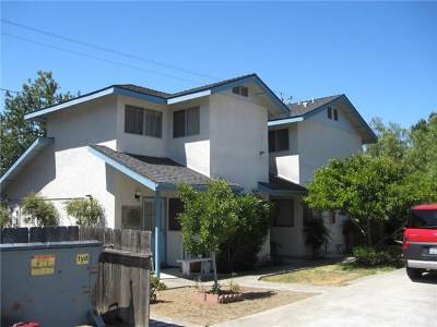 San Luis Obispo CA Multi Family Home Active Under Contract: $815,000
