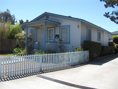 San Luis Obispo Multi Family Home Active Under Contract: 527 Branch Street