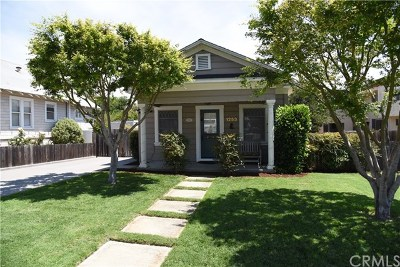 San Luis Obispo CA Single Family Home For Sale: $1,349,000