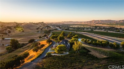 San Luis Obispo County, Monterey County, Santa Barbara County Residential Lots & Land For Sale: 7750 Highway 101