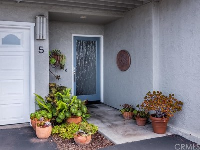 Cambria, Cayucos, Morro Bay, Los Osos Condo/Townhouse For Sale: 5 Zanzibar Terrace Drive #5
