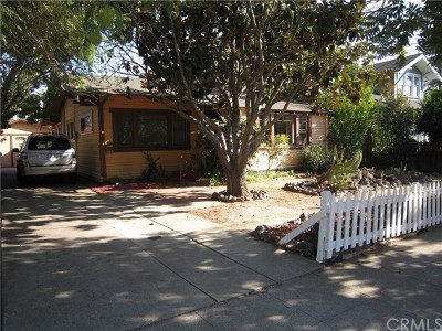 San Luis Obispo Single Family Home For Sale: 1343 Higuera Street