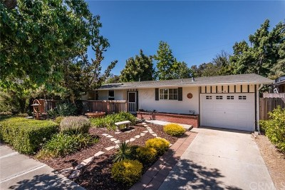 San Luis Obispo Single Family Home For Sale: 1184 San Carlos Drive