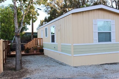 San Luis Obispo CA Mobile Home For Sale: $137,000