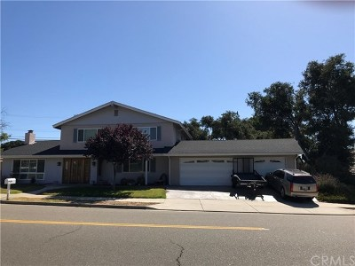 Santa Barbara County Single Family Home For Sale: 4005 Club House Road