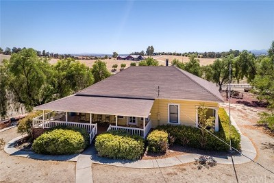San Luis Obispo County Single Family Home For Sale: 6260 Independence Ranch Lane