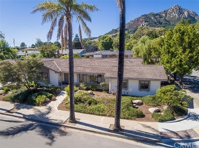 San Luis Obispo Single Family Home Active Under Contract: 584 Patricia Drive