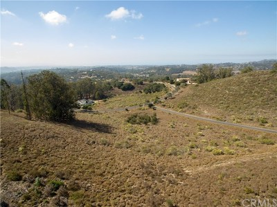 Pismo Beach, Arroyo Grande, Grover Beach, Oceano Residential Lots & Land For Sale: 1170 Montecito Ridge Drive