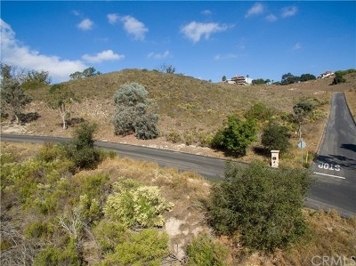 Pismo Beach, Arroyo Grande, Grover Beach, Oceano Residential Lots & Land For Sale: 1190 Montecito Ridge Drive