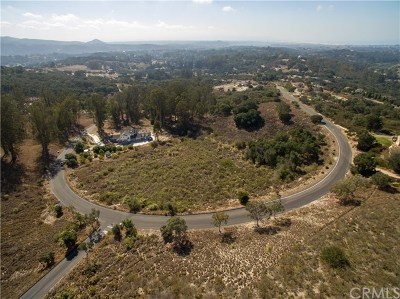 Pismo Beach, Arroyo Grande, Grover Beach, Oceano Residential Lots & Land For Sale: 1211 Montecito Ridge Drive