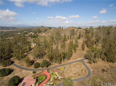 Pismo Beach, Arroyo Grande, Grover Beach, Oceano Residential Lots & Land For Sale: 1375 Sugar Bush Court