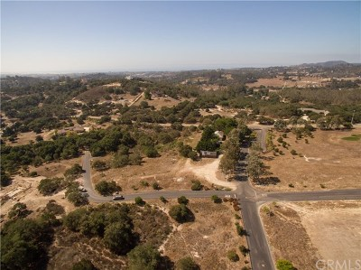 Pismo Beach, Arroyo Grande, Grover Beach, Oceano Residential Lots & Land For Sale: 1275 Manzanita Court