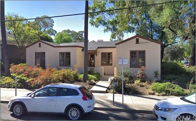 San Luis Obispo County Commercial Lease For Lease: 1103 Toro Street