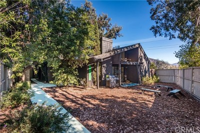San Luis Obispo Single Family Home For Sale: 1410 Prefumo Canyon Road