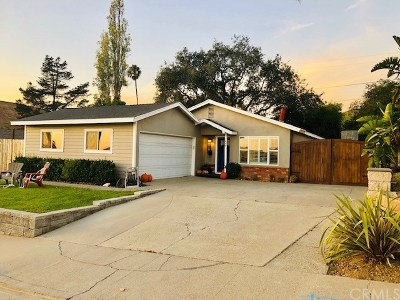 San Luis Obispo Single Family Home For Sale: 1450 Orcutt Road