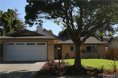Pismo Beach, Arroyo Grande, Grover Beach, Oceano Single Family Home For Sale: 1333 Crest Street