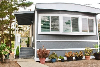 San Luis Obispo CA Mobile Home For Sale: $149,999