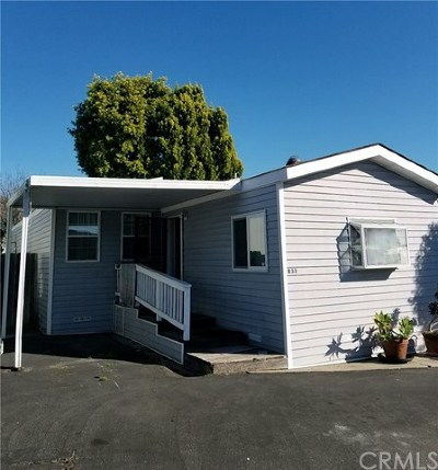 San Luis Obispo Mobile Home For Sale: 1255 Orcutt Road