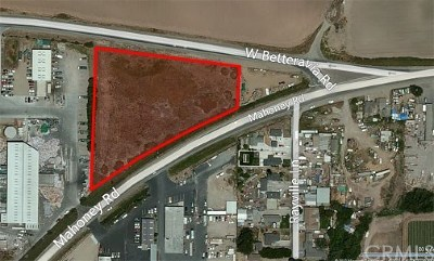 Santa Maria Residential Lots & Land For Sale: 1840 W Betteravia