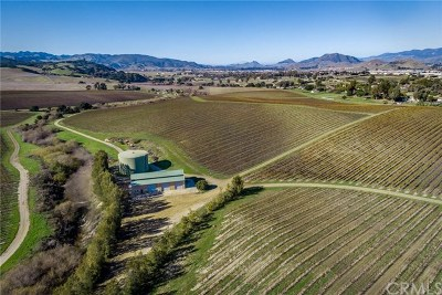 San Luis Obispo County Residential Lots & Land For Sale: 5502 Los Ranchos Road
