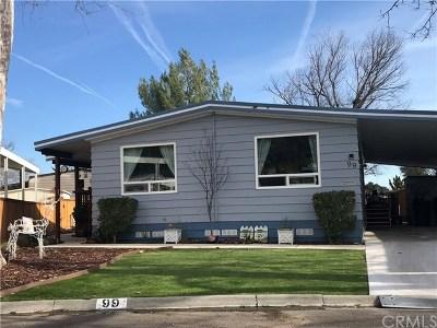 San Luis Obispo County Mobile Home For Sale: 10025 El Camino Real