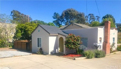 San Luis Obispo Single Family Home For Sale: 491 E Foothill Boulevard