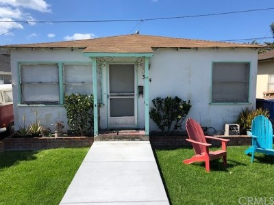 Single Family Home For Sale: 314 Castaic Avenue