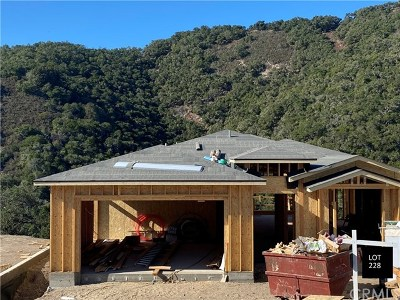 San Luis Obispo County Single Family Home For Sale: 5415 Shooting Star Lane