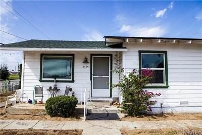 San Luis Obispo County Single Family Home For Sale: 1315 Newport Avenue