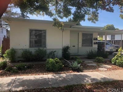 San Luis Obispo Rental For Rent: 1563 Mill Street