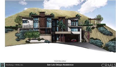 San Luis Obispo Residential Lots & Land For Sale: 2294 Santa Ynez Avenue