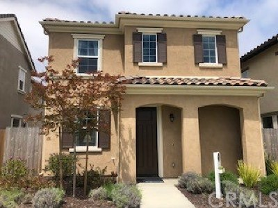 Santa Maria Single Family Home For Sale: 1840 Sterling Place