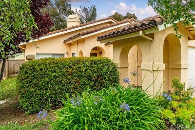 San Luis Obispo Single Family Home For Sale: 768 Clearview Lane