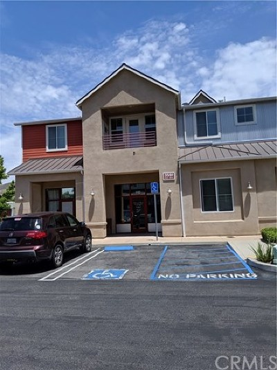 San Luis Obispo County Commercial For Sale: 3591 Sacramento Drive #110