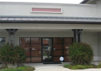 San Luis Obispo County Commercial Lease For Lease: 3480 S Higuera Street #110