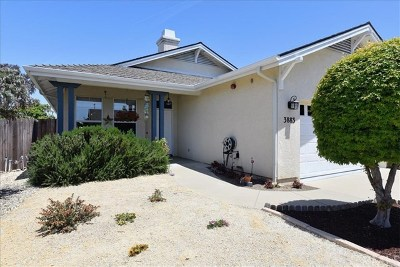 San Luis Obispo CA Single Family Home For Sale: $759,900